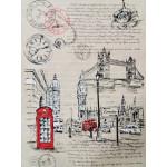 Полотенце п/лен Italy/London