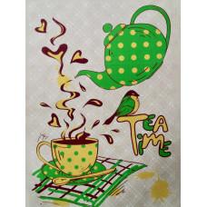 Полотенце п/лен Tea Time