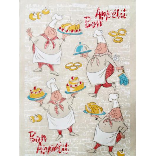 Полотенце п/лен Bon Appetit