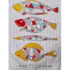 Полотенце кухонное Fish/Pizza