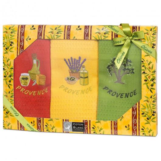 Кухонные полотенца Olive mult (Франция)