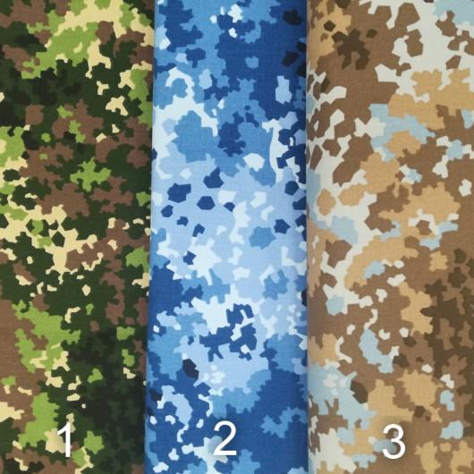 Ткань Саржа (Камуфлированная) 150 см
