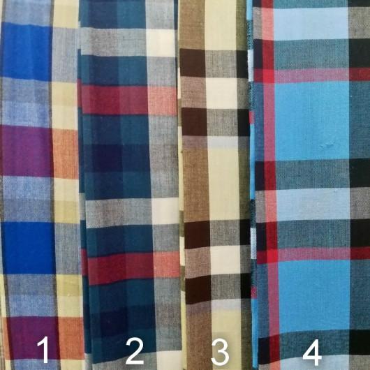 Ткань Шотландка 150 см в.04