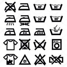 Расшифровка символов ухода за изделиями